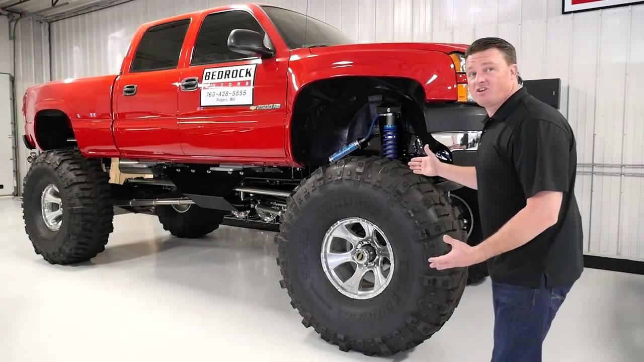 Lifted Monster Truck Bedrock Motors Rogers Blaine
