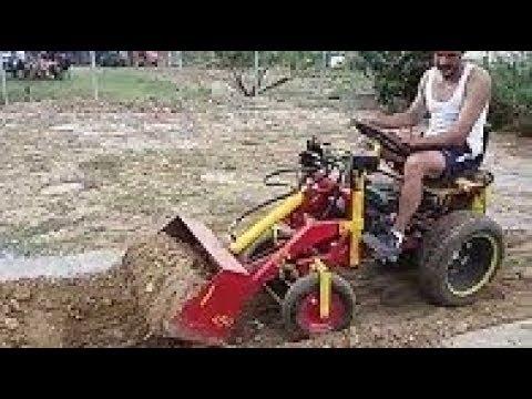 Mini Home made Сельскохозяйственная и строительная техника