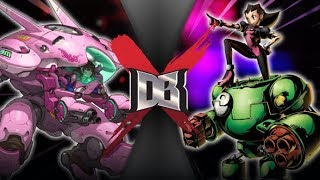 D.Va VS Tron Bonne (Overwatch VS Capcom) | DBX