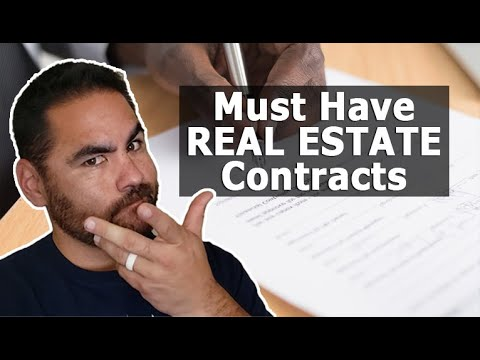 Most Important Contracts for Real Estate Investing