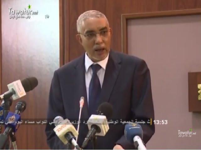 جلسة الجمعية الوطنية الخاصة برد الوزير الأول على أسئلة النواب