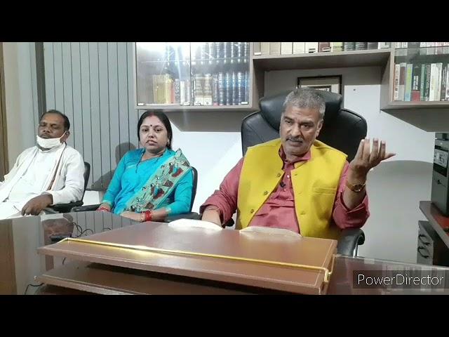 सबलोग पार्टी के सुप्रीमो डा. अरूण कुमार लोजपा के चिराग प्रकरण को लेकर राजनीतिक दलों को कोसते हुए।