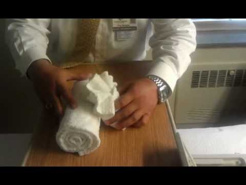 HHS Northeast Division Towel Origami Lesson 1: Clam Shell