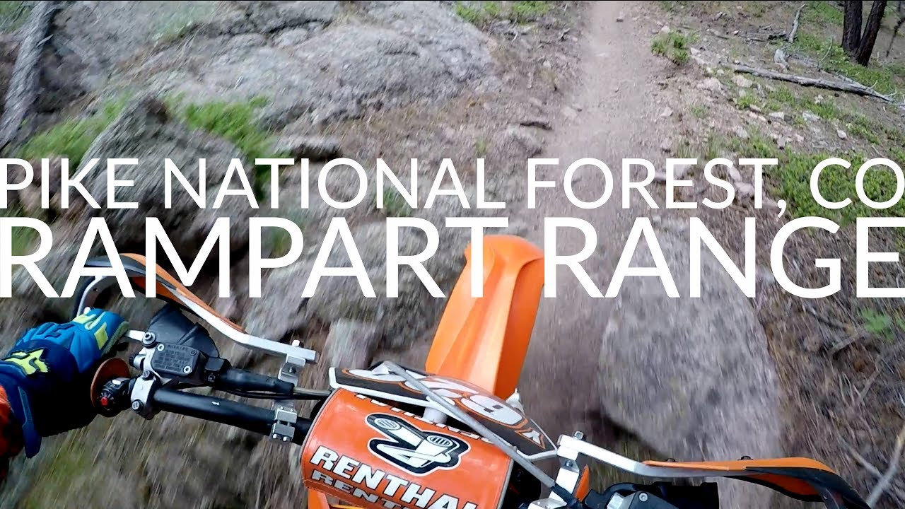 Rampart Range - Colorado Motorcycle and ATV Trails