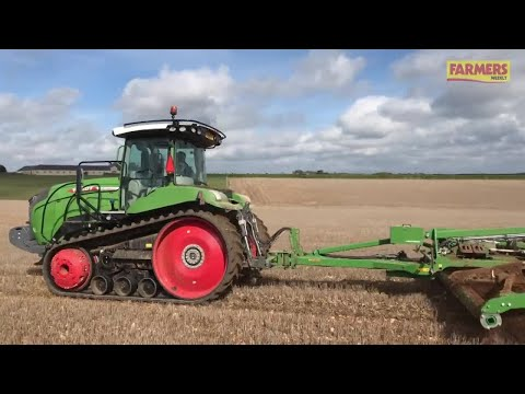 On Test: Fendt's 943 MT Twin-track Crawler