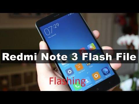 How to Flash Redmi Note 3 MIUI 9 Firmware Update mi flash tool