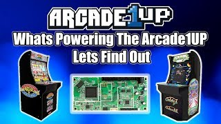 Arcade1Up Cabinet Teardown Detailed Look At CPU And PCB