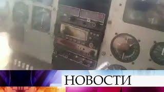 В Интернет попали трагические кадры крушения самолета «Сессна-206» в джунглях Венесуэлы.
