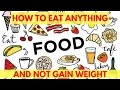 🍧 How To Eat Your Favorite Foods & Not Gain Weight