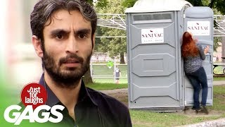 Credit Card Thief Stopped by Porta Potty