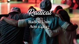 Radical Unity Sermon