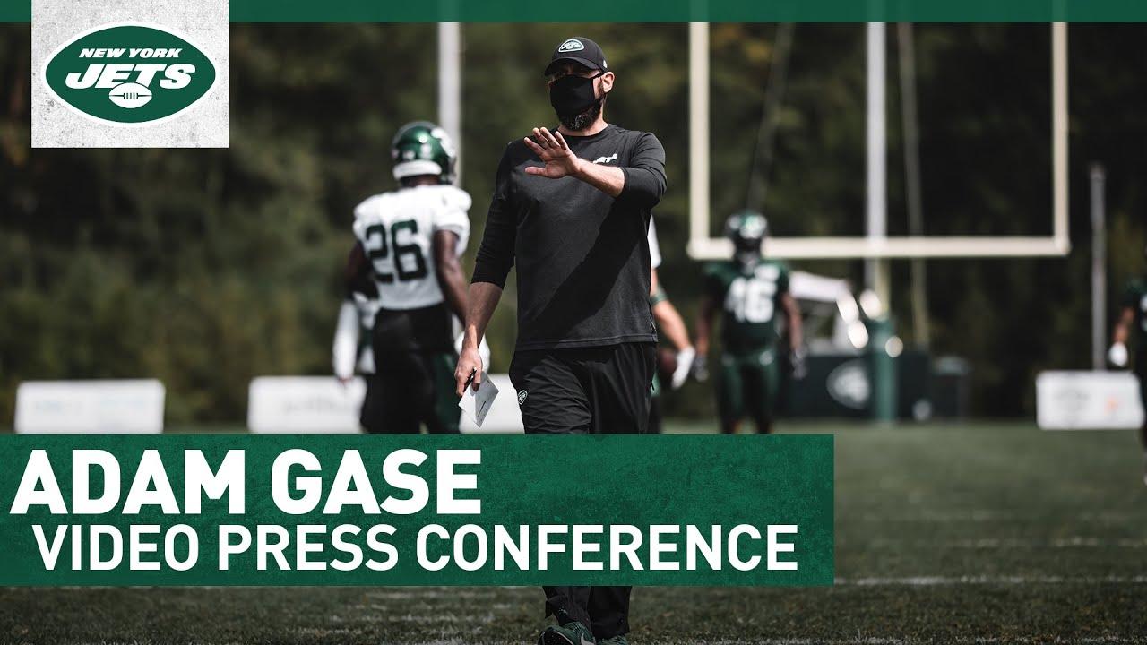 Head Coach Adam Gase Press Conference (9/29)   New York Jets   NFL