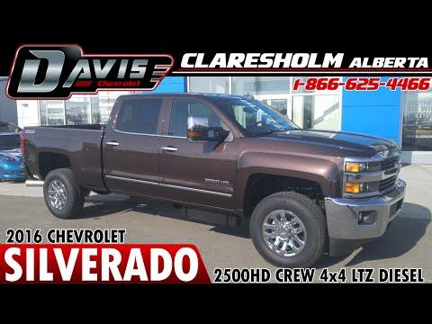 2016 Bronze Chev 3500HD Crew 4x4 Diesel | Davis Claresholm | Lethbridge, Calgary