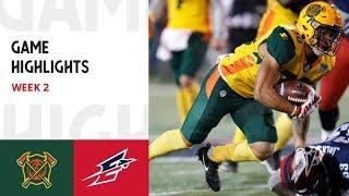 AAF Football League | Arizona Hotshots vs Memphis Express    Week 2 Full Game Highlights