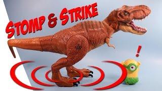 Jurassic World Stomp & Strike Large Tyrannosaurus Rex Dinosaur Toy