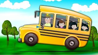 колеса на автобусе пойти кругом | Дети потешки | Toddlers Rhymes | The Wheels on the Bus