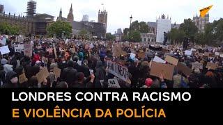 EN VIVO. Protestas en el Parlamento de Londres contra el racismo