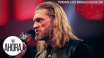 REVIVE Raw en 6 (MINUTOS): WWE Ahora, Mar 16, 2020