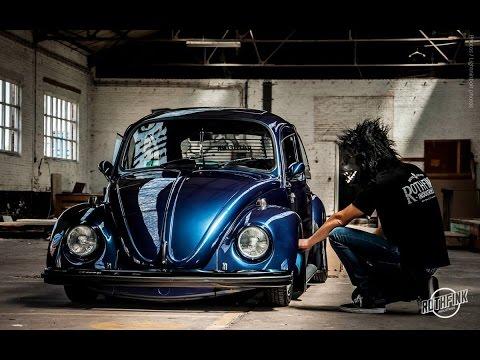 1973 Slammed VW Bug - Aircooled Junkies - YouTube