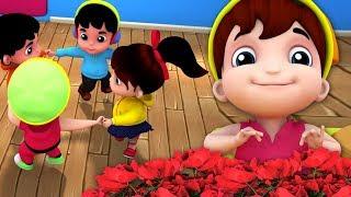 Ringa Ringa Розы   3D рифмы песни   Детские стихи   Nursery Rhymes