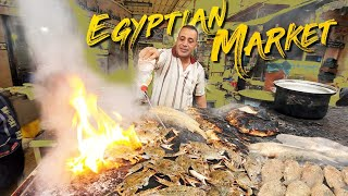 BEST Egyptian SEAFOOD MARKET! SEAFOOD & TRADITIONAL BREAKFAST in Alexandria Egypt
