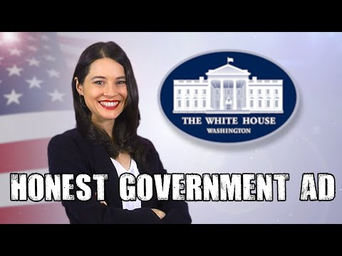Honest Government Ad | TRUMP 2020