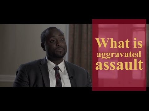 What is aggravated assault? | Pennsylvania Criminal Defense & Personal Injury Lawyers