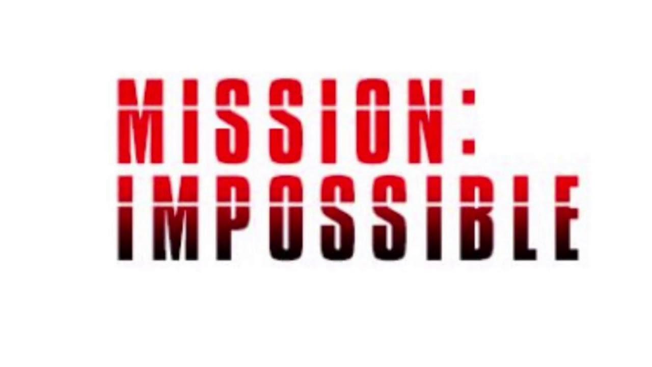 Картинка с надписью миссия невыполнима