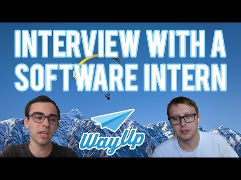 Interview with a Software Intern from WayUp