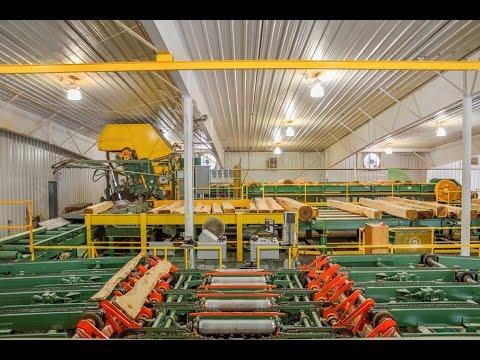 Sawmill And Kilns - Yoder Lumber
