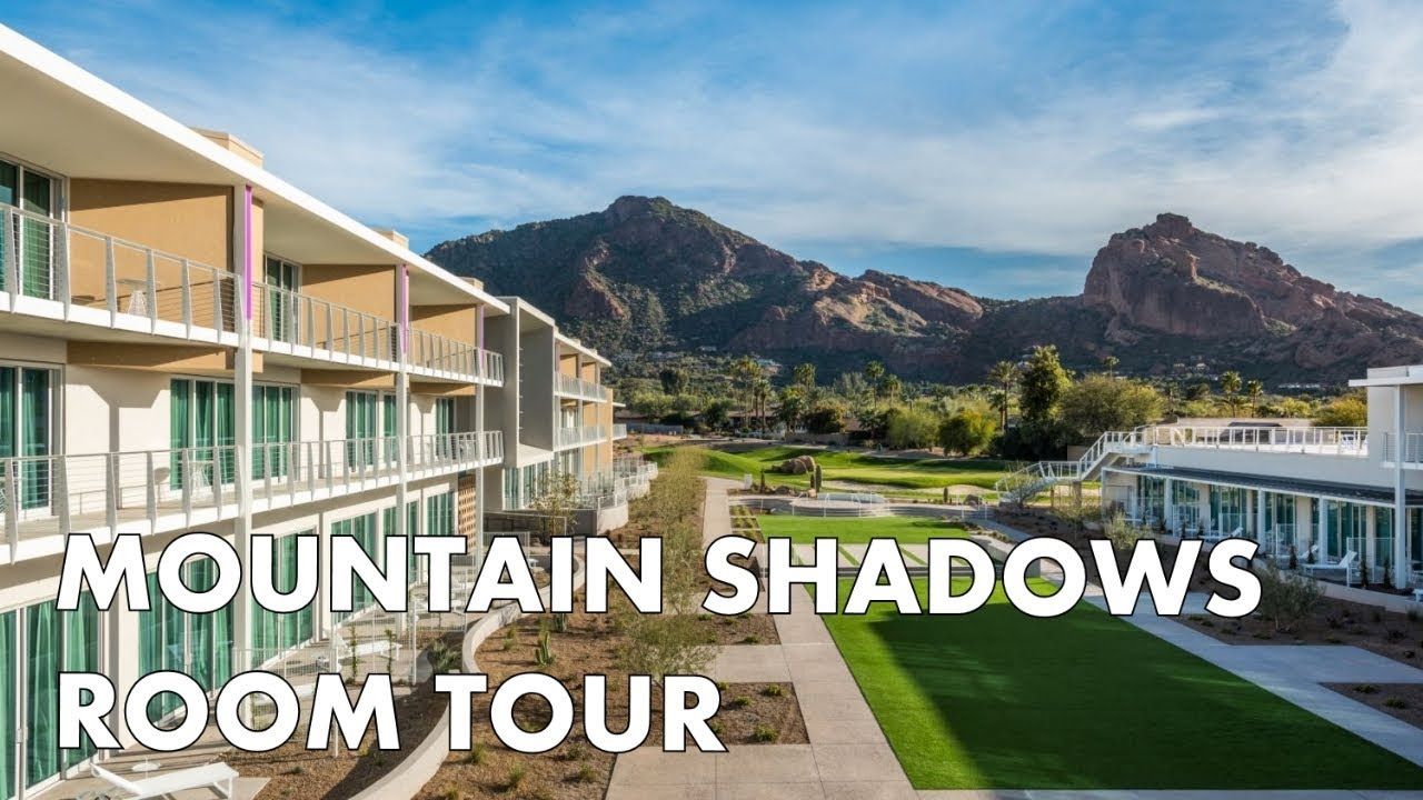 luxury in paradise valley - mountain shadows resort room tour - youtube