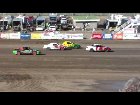 Dacotah Speedway IMCA Sport Compact Heats (Governor's Cup Night #2) (7/30/16)