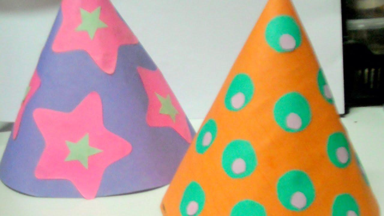 Make Fun Kids Party Hats