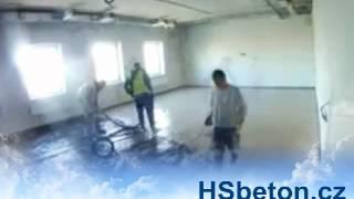 Anhydritové podlahy webkamera
