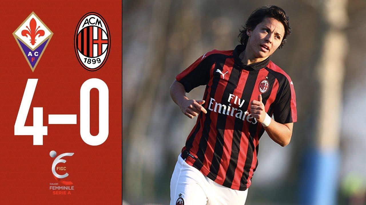 Fiorentina 4-0 AC Milan