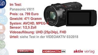 Testvideo: Panasonic HC-VX11