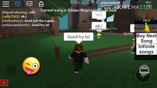 Roblox Gameplay #1 Musical Chairs