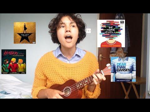 musicals mashup | dear evan hansen, hamilton, be more chill, heathers