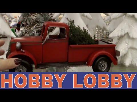 Hobby Lobby CHRISTMAS Farmhouse, Rustic Decor!
