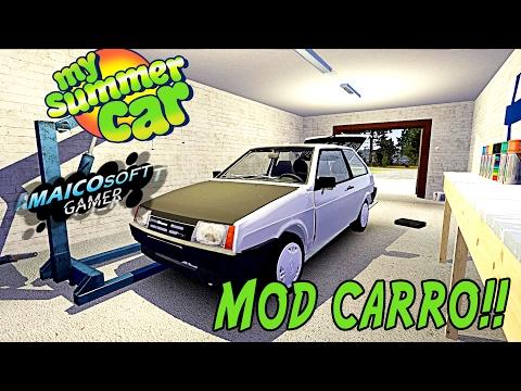 Mod Carro My Summer Car Tutorial Vaz 2108 Youtube