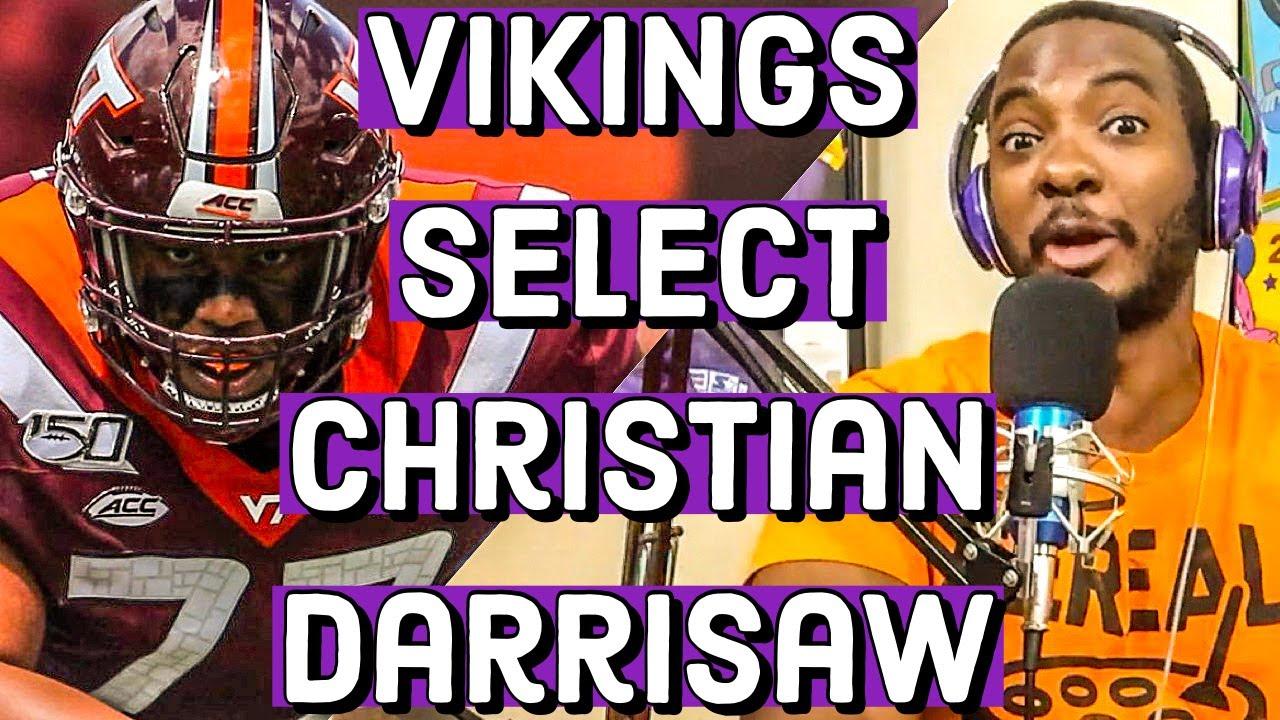 Vikings Draft Christian Darrisaw