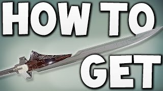 Destiny - HOW TO GET SWORD !!
