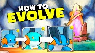 HOW TO EVOLVE! - Pokémon Mysтery Dungeon: Rescue Team DX
