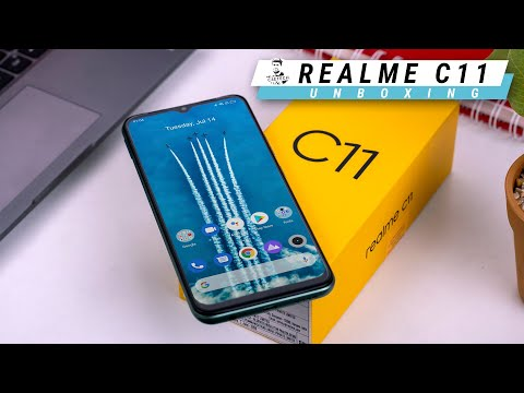 Realme C11 Unboxing & Hands On - Looks Over Performance