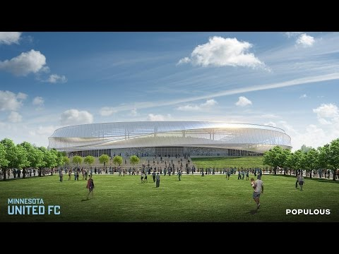 Minnesota United FC Unveil Stadium Design