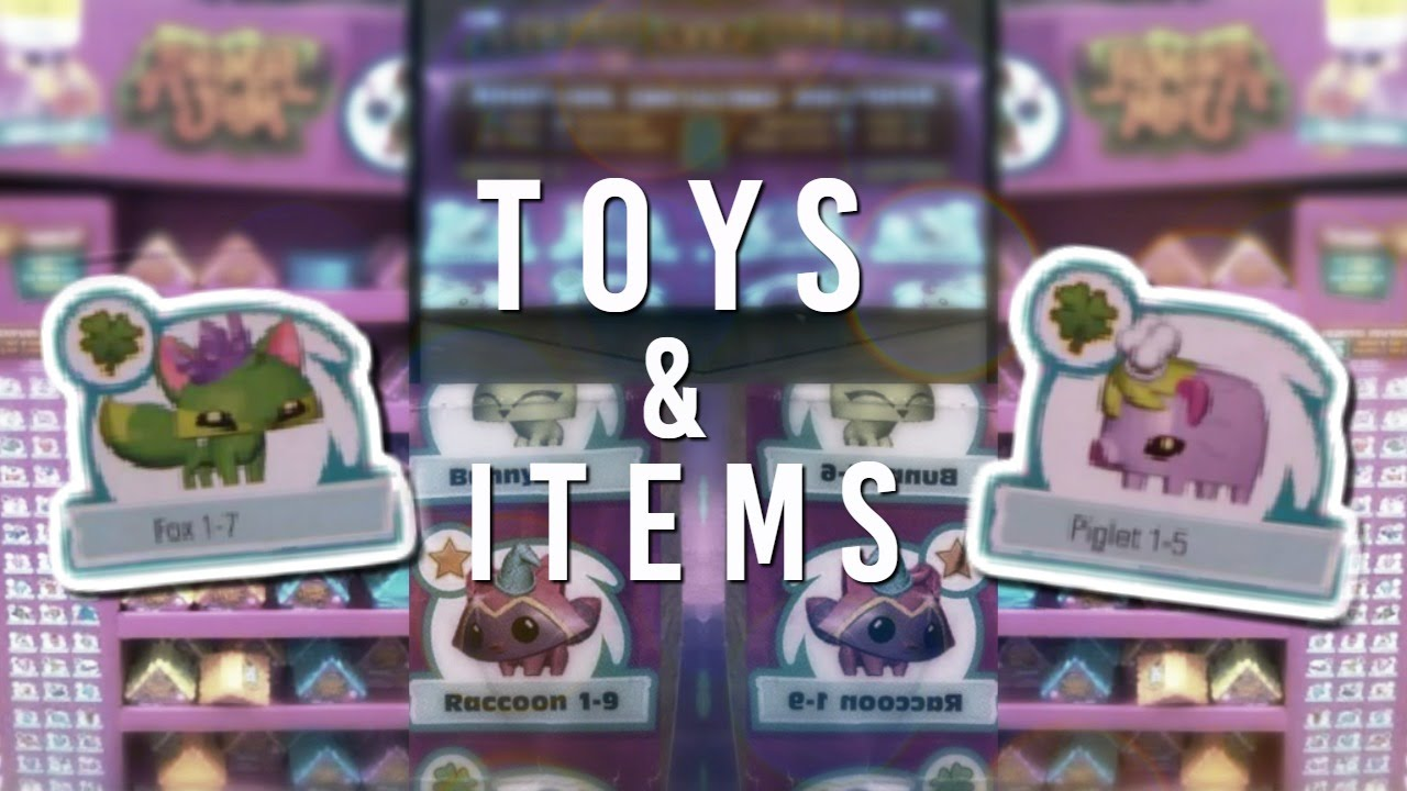 Animal Jam Toys New Unreleased Items Youtube