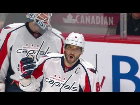 Ovechkin snipes in Montreal, ties Richard on all-time goals list