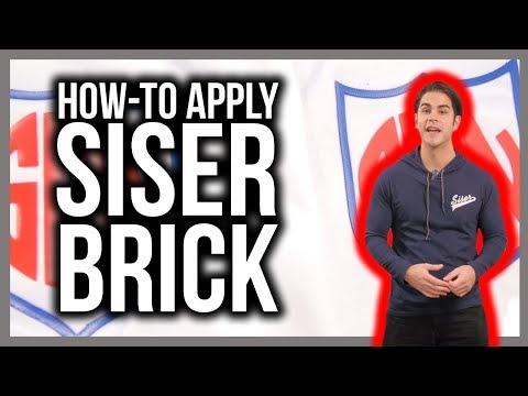 How To Apply Siser Brick Heat Transfer Vinyl