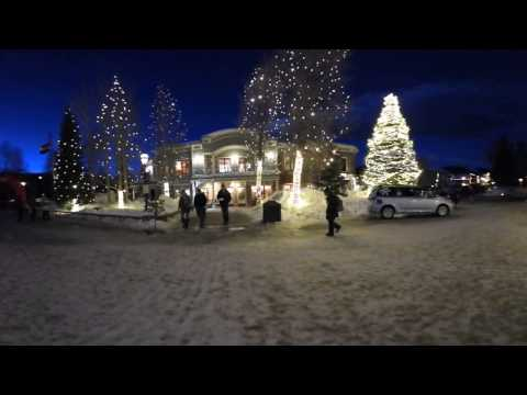 Summit 360: Downtown Breckenridge at night