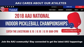 2018 AAU National Indoor Pickelball Championships